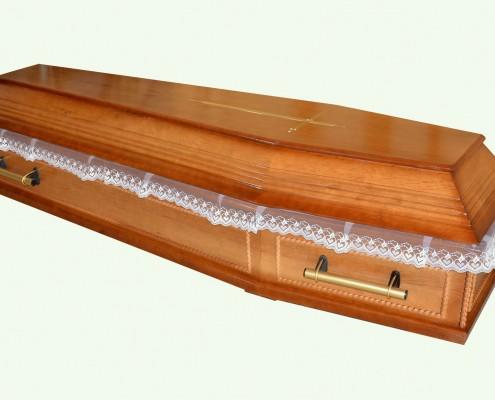 Trumna sarkofag z kasetonami