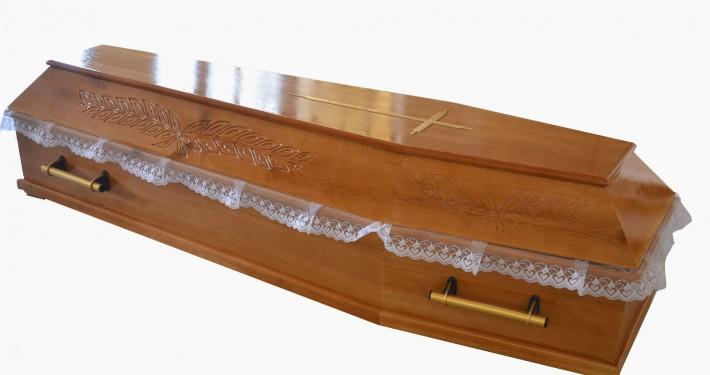 Trumna sarkofag rzeźbiony